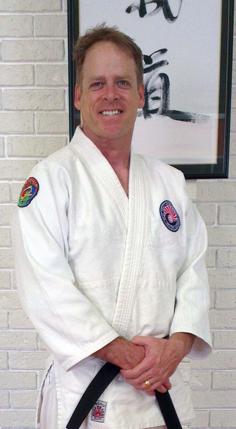 Will Huntley 2nd Degree Black Belt in Aikido